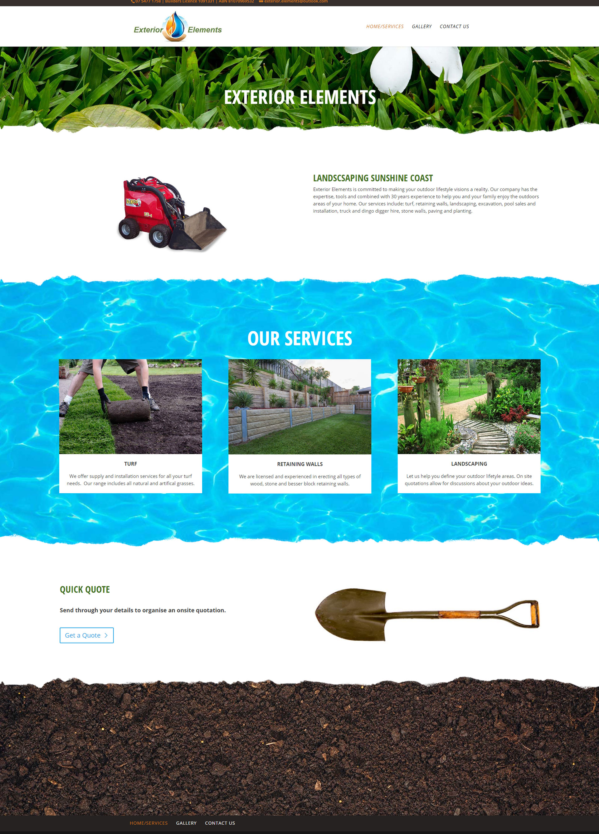 Sunshine Coast web design for Romero Practice Tewantin