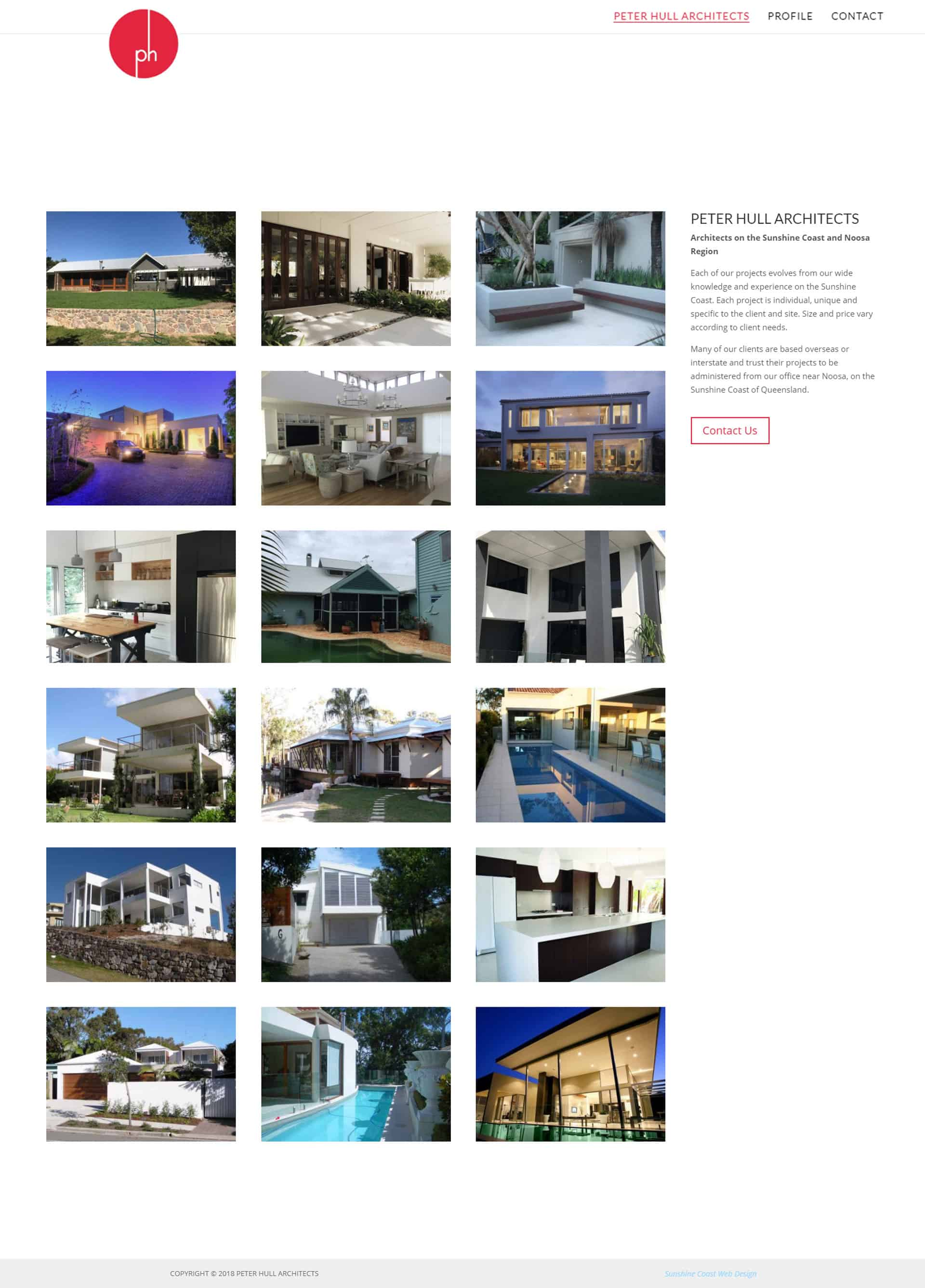 Sunshine Coast web design for 3BCreative Buderim